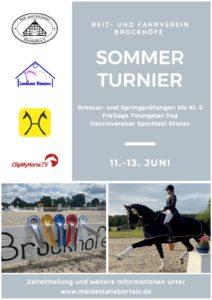 Ankündigung Sommerturnier 21